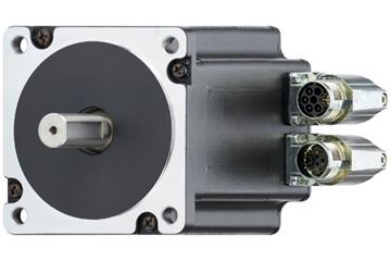 drylin® E stepper motor with connector and encoder, NEMA 34