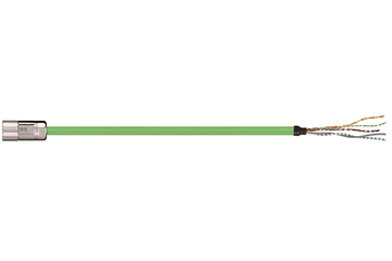 readycable® feedback cable similar to Allen Bradley 2090-CFBM4DF-CDAFxx, base cable PUR 7.5 x d
