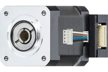 drylin® E lead screw stepper motor with strands and encoder, NEMA 17