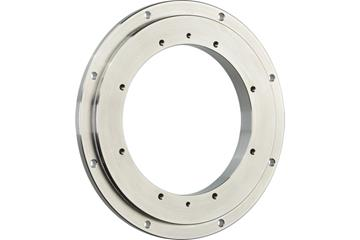 iglidur® slewing ring PRT-04, outer ring made from stainless steel, sliding elements made from iglidur® A180