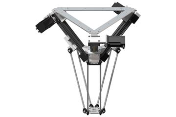 drylin delta robot | Workspace 660mm
