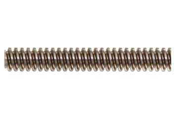 drylin® trapezoidal lead screw, left-hand thread, two start, 1.4301 stainless steel