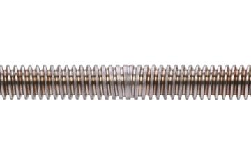 drylin® trapezoidal lead screw, reverse, 1.4301 stainless steel