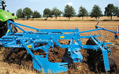 Application cultivator Lemken