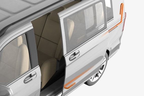 e-chains® in sliding door and tailgate