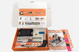 Sample box for machine tools