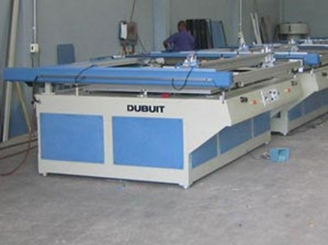Screen-printing facility