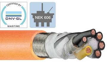 Offshore chainflex cable