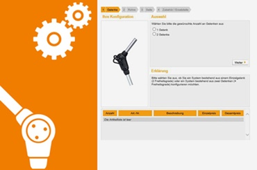 Configurator for robot joints