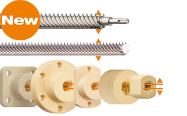 dryspin lead screw technology with new pitches